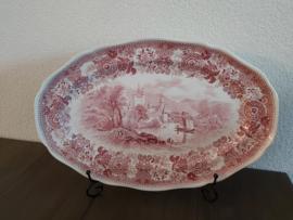 Burgenland - Serveerschaal 40 cm  (rood)