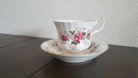 Lavender Rose - Heren kop en schotel