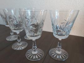Kristallen Pinwheel wijnglazen
