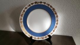 Whitehall Powder blue band - Lunchbordje 22,5 cm