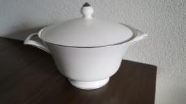 Silver Ermine ( Contour Shape) - Dekschaal 21,5 cm