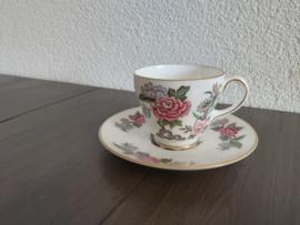 Cathay - Espresso/mokka kop en schotel