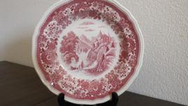 Burgenland - Dinerbord 25 cm (rood)