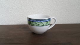 Watercolour - Espresso/mokka kop zonder schotel