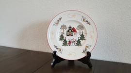 Windsor Christmas - Gebaks- of broodbordje 18,5 cm