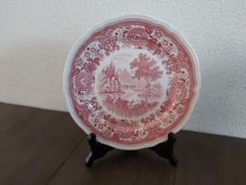 Burgenland -Ontbijtbord 21 cm (rood)