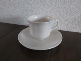Manoir - Koffiekop en schotel 7 cm hoog