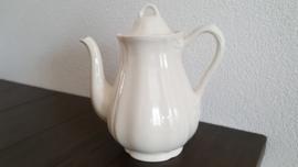Queen's Plain Creme - Koffiekan ca 22cm hoog ( 1,6 liter)
