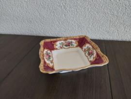 Lady Hamilton  - Vierkant schaaltje 11,5 cm