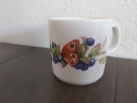 Bosvruchten - Koffiebeker - blauwe bes