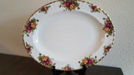 Old Country Roses - Serveerschaal Ovaal 33 x 2.5 cm