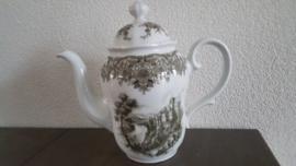 Rheingau - Koffiepot 1,2 liter  ca 22 cm hoog