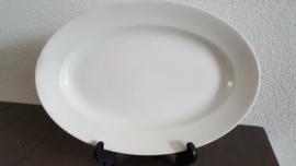 Serveerschaal in roomwit 29 x 20 cm (maat 7)(a)