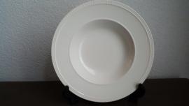 Windsor - Soepbord ca 22,5 cm   glad met parelrand