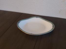 Jade - Zuurschaaltje of onderschotel voor sauskom ca 20 x 14 cm