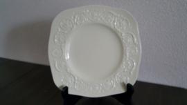 Patrician Creme - Saladebord vierkant 22 cm