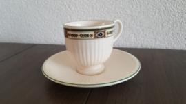 Carlton - Espresso/mokka kop en schotel
