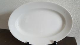 Serveerschaal in roomwit 29 x 20 cm (maat 7)(b)