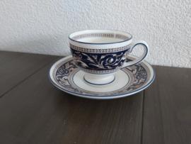 Florentine Dark Blue - Kop en schotel (Leigh model)