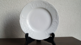 Sanssouci Classic Rose White - Ontbijtbord 22 cm