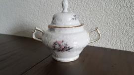 Sanssouci Grey Rose - Deksel voor suikerpot