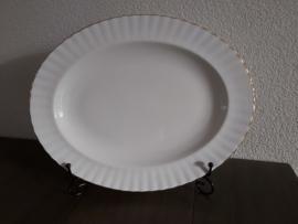 Val d'Or - Ovale serveerschaal  34,5 x 27 cm