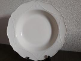 Creamware Guirlande (Garland) - Soepbord 27 cm