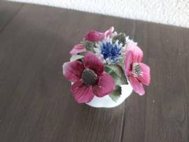 Augustus - Bloemen Poppy 6 cm hoog