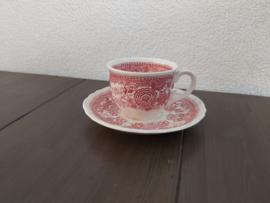 Burgenland - Dames kop en schotel klein (rood)