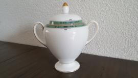 Jade - Suikerpot globe model 14 cm hoog