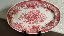 Fasan - Serveerschaal 31,5 x 21 cm (rood)