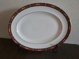 Chippendale - Vleesschaal  35,5 x  28 cm