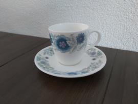 Clementine - Espresso/mokka kop en schotel