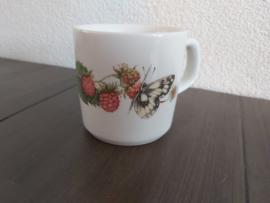 Bosvruchten - Koffiebeker - framboos