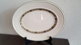 Carlton - Ovale serveerschaal 35,5  x 27,5 cm