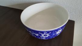 Teadrinker Blauw - Saladeschaal 23 cm doorsnede