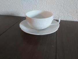 Sanssouci White - Thee kop en schotel