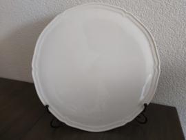Manoir - Rond serveerplateau van ca 30 cm doorsnede..