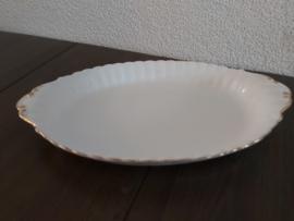 Val d'Or - Zuurschaaltje 22 x 13 cm geribbeld