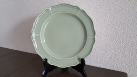 Queen's Plain Groen - Ontbijtbordje 20,5 cm
