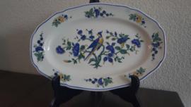 Phoenix Blauw - Serveerschaal 27 x 18 cm
