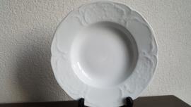 Sanssouci Classic Rose White -  Soepbord 23,5 cm