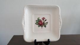 Moss Rose - Vierkante serveerschaal 23 x 23 cm