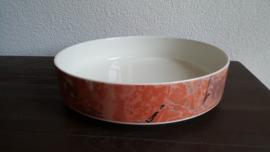 Siena - Lage ronde saladeschaal 24,5 cm doorsnede, 6 cm hoog