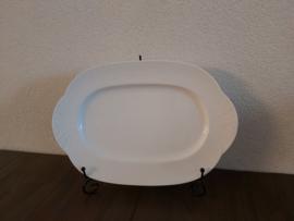 Arco Weiss - Ovale serveerschaal 34 x 23 cm