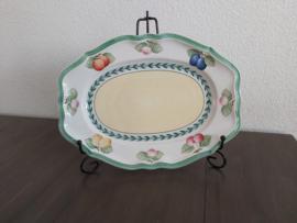French Garden - Ovale schaal 29 cm