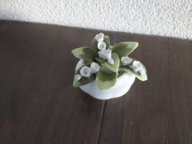 Mei - Bloemen Lily of the Valley  5 cm hoog
