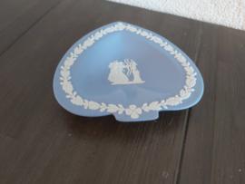 """Jasperware lichtblauw - Schaaltje """"schoppen"""" 11 cm"""