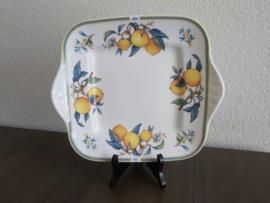 Citrons - Serveerschaal vierkant 24/28 cm
