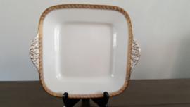 Atanta - Vierkante serveerschaal  ca 24 x 24 cm